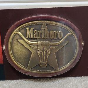 Marlboro Belt Buckle New in Package